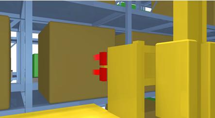 劳易测抑制传感器的实际应用--货架状况检测