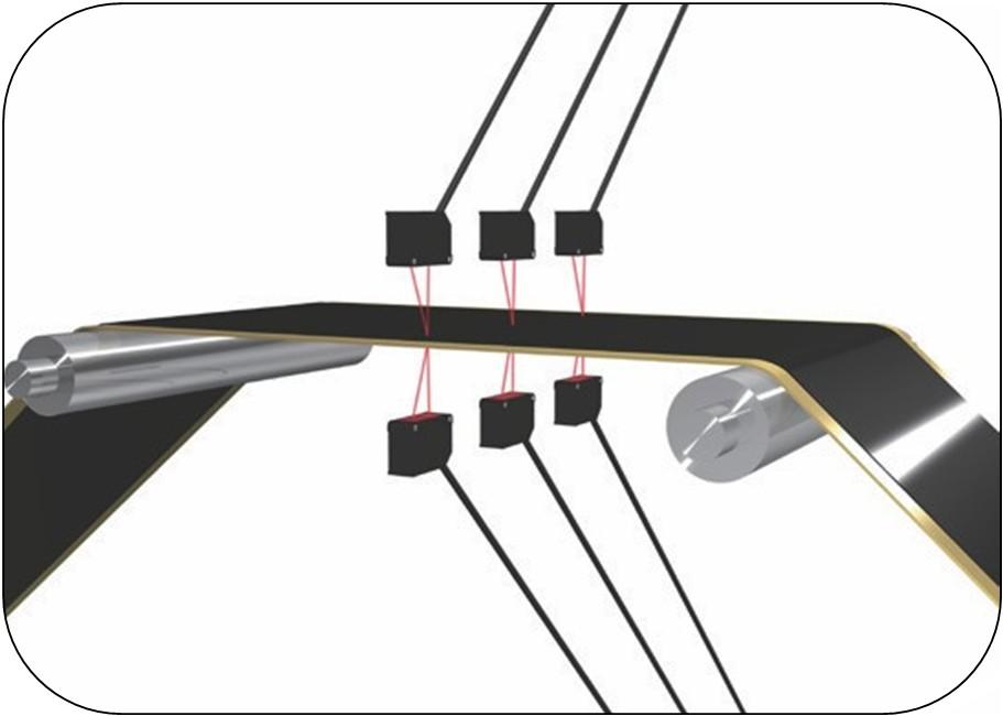 激光位移传感器检测电池电极的厚度