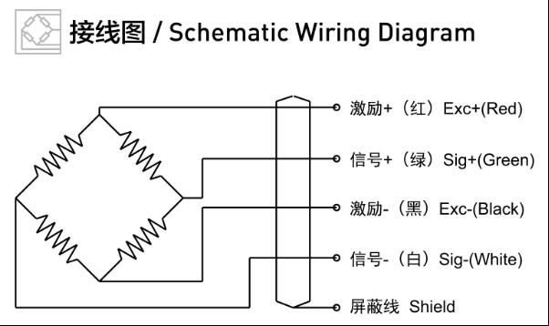 扭矩传感器f9801系列接线图